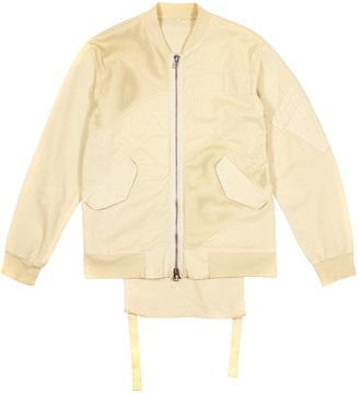 Helmut Lang Ecru Cotton Jackets