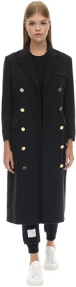 Thom Browne Long Double Breast Cashmere Coat