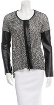 Robert Rodriguez Mélange Open Knit Cardigan w/ Tags