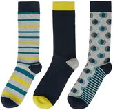 Ted Baker Organic Three Pack Sock Gift