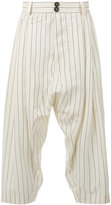 Vivienne Westwood cropped drop-crotch trousers