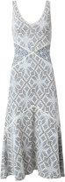 Cecilia Prado midi knit dress - women - Acrylic/Polyamide/Viscose - P