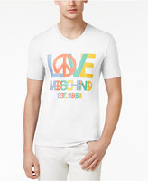Love Moschino Men's Slim-Fit Graphic Print T-Shirt