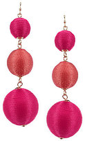 Anna & Ava Claire Thread Ball Drop Earrings