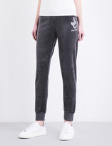 Juicy Couture Crystal Dreams velour jogging bottoms