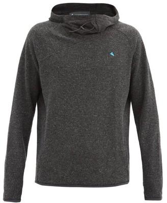 Klättermusen Klattermusen - Falen Wooly Jersey Hooded Sweatshirt - Black