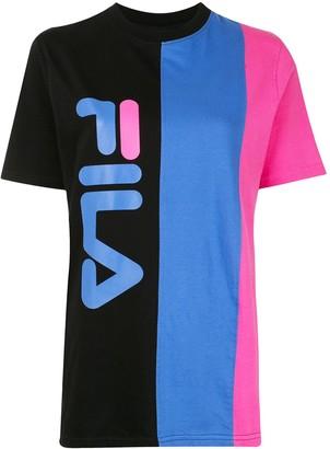 Fila logo-print crew neck T-shirt