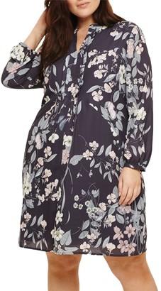 Studio 8 Kim Printed Dress, Grey Multi
