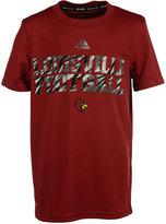 adidas Kids' Louisville Cardinals Shock Worthy Performance T-Shirt