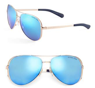 Michael Kors Chelsea 59mm Aviator Sunglasses