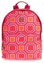 Tory Burch Print Nylon Backpack