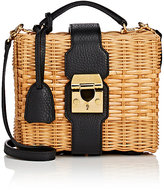 Mark Cross Women's Harley Rattan Satchel