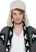 Canada Goose Grey Shearling Aviator Hat