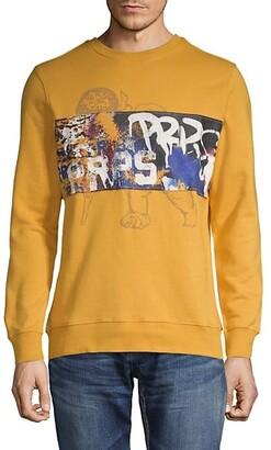 PRPS Graphic Cotton-Blend Sweatshirt