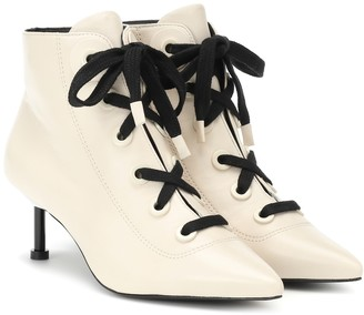 Mercedes Castillo Payton leather ankle boots