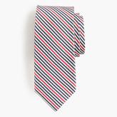 J.Crew Italian silk tie in seersucker