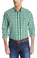 Cinch Men's Long Sleeve Plaid