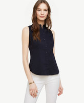 Ann Taylor Sleeveless Perfect Shirt