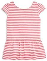 Kate Spade Girls' Bow Back Peplum Top - Sizes 7-14