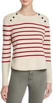 525 America Crop Stripe Sweater
