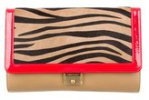 Jimmy Choo Ponyhair-Paneled Cassie Clutch