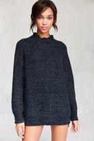 BDG Waffle-Knit Turtleneck Sweater