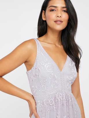 Monsoon Lavinia Embroidered Maxi Dress