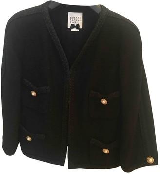 Edward Achour Black Cotton Jacket for Women