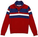 Nautica Toddler Boys' Chest Stripe Sweater (2T-3T)