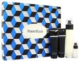 Perry Ellis Reserve by for Men 4 Piece Set Includes: 3.4 oz Eau de Toilette Spray + 3.0 oz Shower Gel + 3.0 oz After Shave Balm + 0.25 oz Eau de Toilette Spray