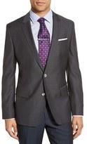 BOSS Men's 'Hutsons' Trim Fit Houndstooth Wool Sport Coat