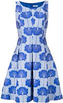 P.A.R.O.S.H. floral jacquard dress - women - Silk/Polyamide/Polyester/Viscose - XS