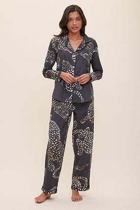 Desmond & Dempsey Jaguar Pyjama Set