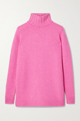 The Elder Statesman Cashmere Turtleneck Sweater - Pink