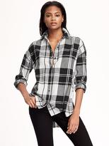 Old Navy Boyfriend Flannel Shirt for Women