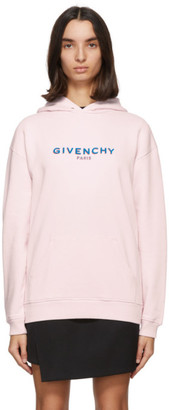 Givenchy Pink Logo Hoodie