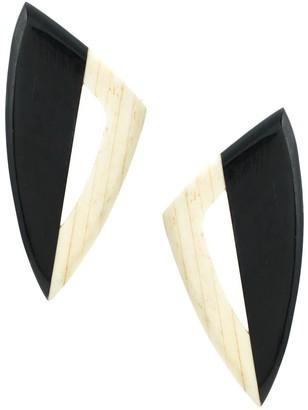 Serpui Marie Wood Earrings