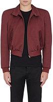 Balenciaga Men's Barracuda Cotton-Blend Crop Jacket-BROWN