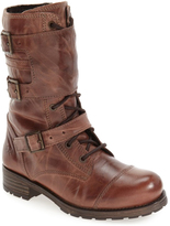 Bos. & Co. Brown Irena Waterproof Leather Boot