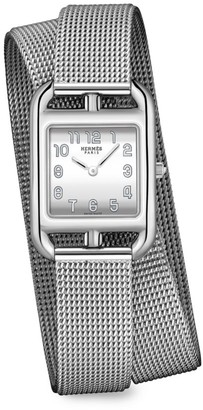 Hermes Cape Cod 23MM Stainless Steel Bracelet Watch