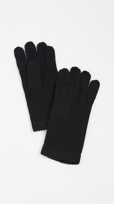 Carolina Amato Classic Short Knit Gloves
