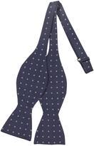 Forzieri Square Dot Woven Silk Bowtie