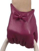 Mandy's Women's Winter Genuine Nappa Leather Gloves
