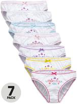 Very Girls Day Of The Week Briefs (7 Pack)