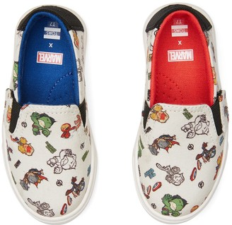 Toms MARVEL How To Print Tiny Luca Slip-Ons