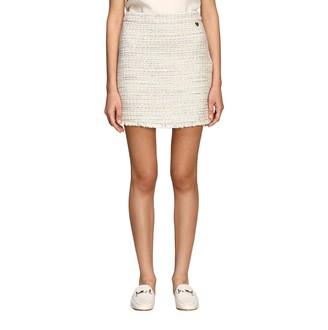 Twin-Set Twin Set Mini Skirt In Boucleacute; Tweed