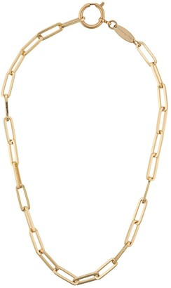 FEDERICA TOSI Line Bolt Long chain necklace