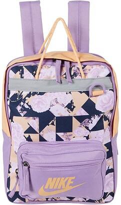 Nike Kids Tanjun All Over Print Backpack (Little Kids/Big Kids) (Violet Star/Orange Chalk/Orange Chalk) Backpack Bags