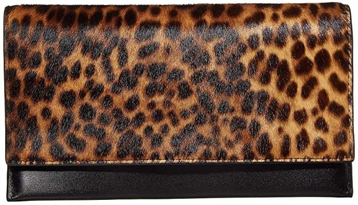 Animal Krista Faux Leather Wallet in ashpalt Grigio dw6wj310-l63