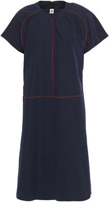 Marni Embroidered Cotton-poplin Dress